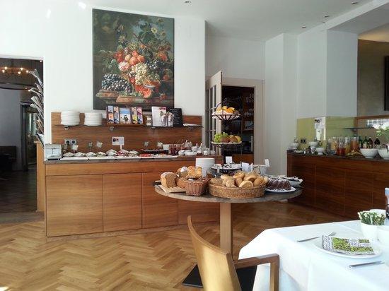 Hotel&Villa Auersperg : Breakfast area