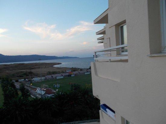 Louis Creta Princess Beach Hotel: вид из номера
