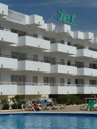 interior do hotel - Picture of Ibiza Jet Apartments, Playa ...