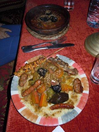 Miyame : Tajine et couscous royal