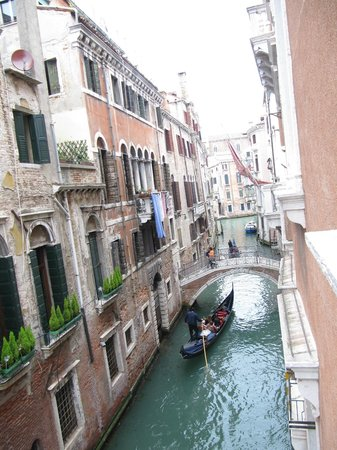 Bedroom view of canal