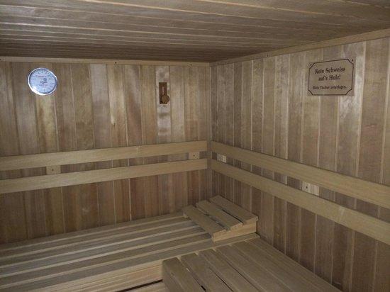 Pension Steiner: Sauna