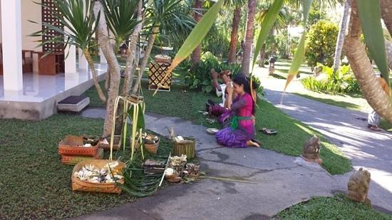 Pertiwi Resort & Spa : inauguration de notre chambre