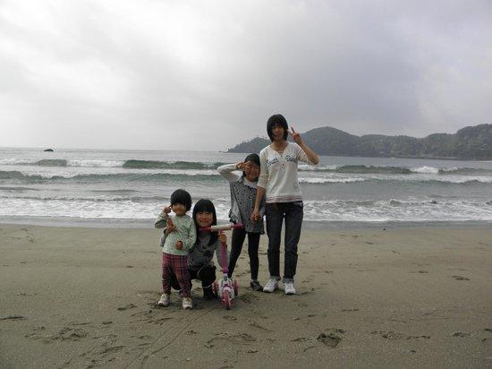 Kyukamura Minami-Izu: 弓ヶ浜の孫たち