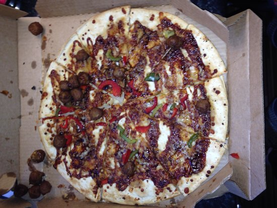 Domino's Pizza: Disgusting customer service