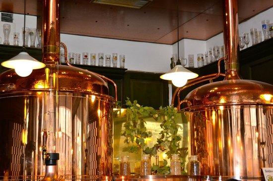 Pivovarsky dum : Bryggeri i huset