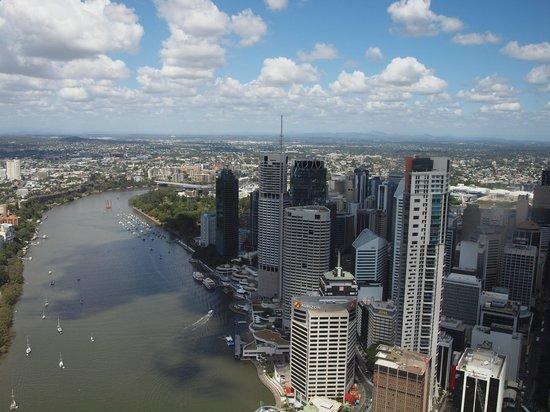 Meriton Suites Adelaide Street, Brisbane: Great river views