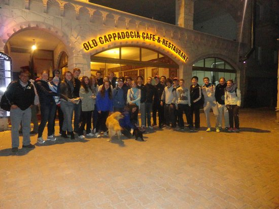 Old Cappadocia Cafe & Restaurant: group of old cappadocia