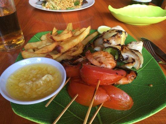 Warung Apple : Mix grill seafood