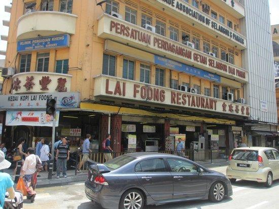 Kedai Kopi Lai Foong : restaurant