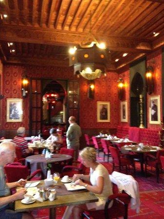 Les Jardins de La Koutoubia : Amazing breakfast room!