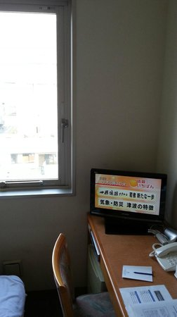 Tourist Inn Kochi: 客室内