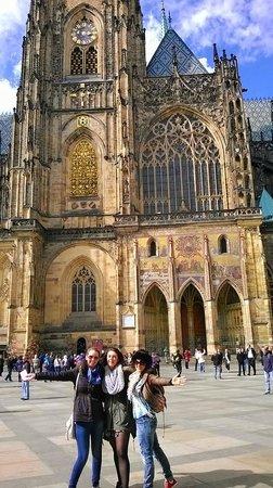 Château de Prague : St. Vitus Cathedral