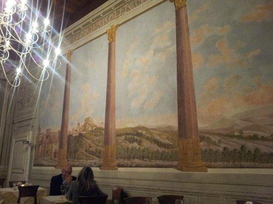 Bacciomeo: La bellissima sala da pranzo