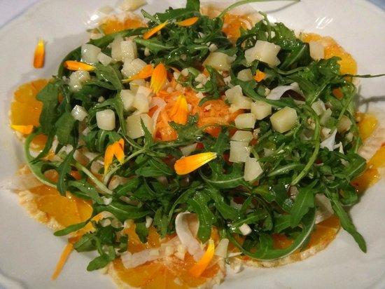 Bellavista Boutique Hotel: Mauro's Blood Orange & Arugula Salad, Bellavista, Brunate