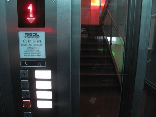 Hotel Deutsche Eiche: Elevator