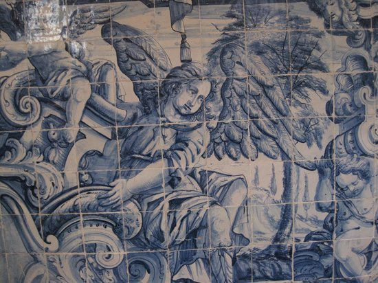 Porto Cathedral (Se Catedral): DETALLE AZULEJOS DEL CLAUSTRO.
