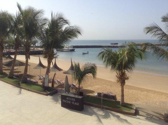 Terrou-Bi : Terraza y vistas a la playa