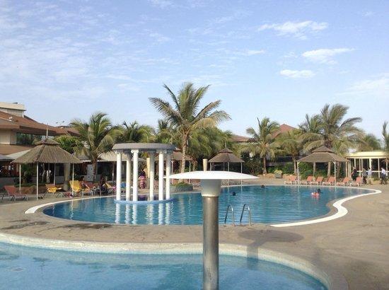 Terrou-Bi : Zona de piscinas