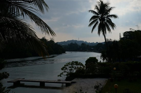 Vila Chaumieres: Lagoon