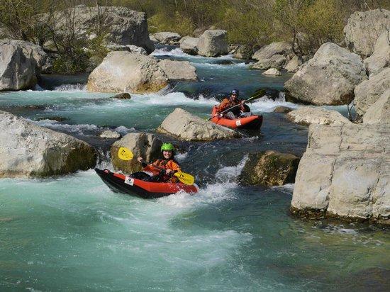 Canyon Adventures : fun kayak per tutti
