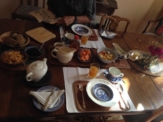 Addo Reach: Breakfast at the main house's dining hall