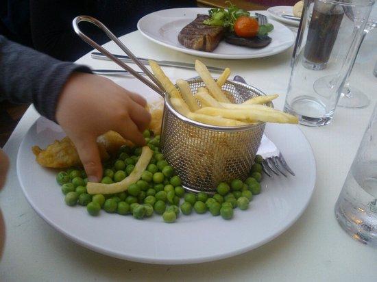 Kingsmills Hotel: Kids Fish & Chips