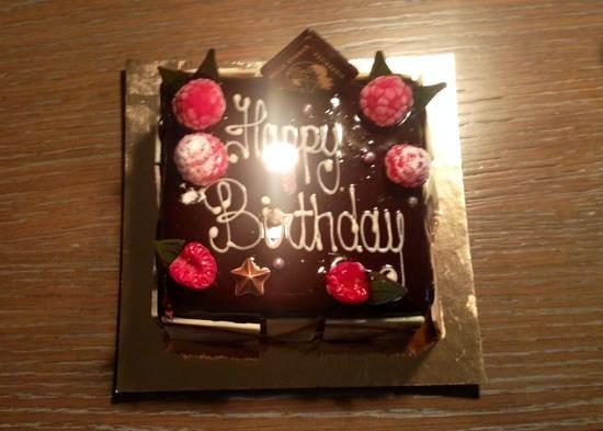 The Bloomsbury: surprise birthday cake