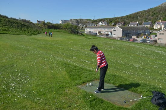 Great Orme Family Golf: Golf Course