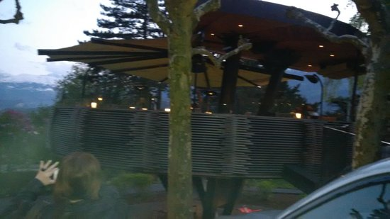 Parkhotel Sonnenhof: the terrace