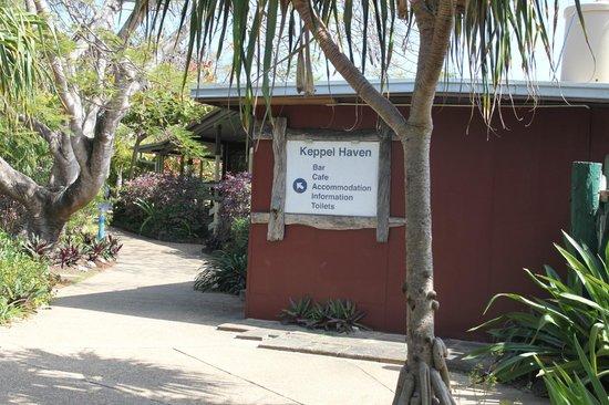 Keppel Haven: Entrance