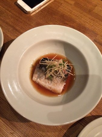 Iyemon Salon Kyoto Cafe Lounge: Mackarel marinato