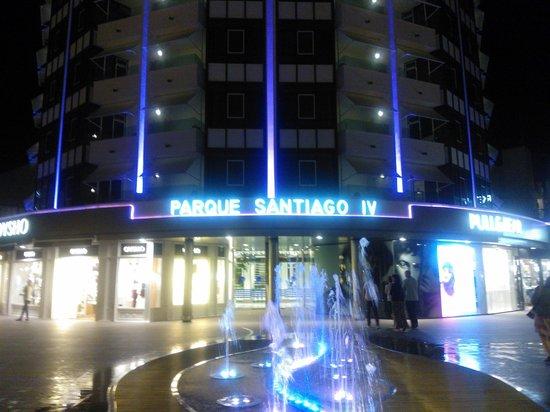 Parque Santiago Villas: Front of hotel