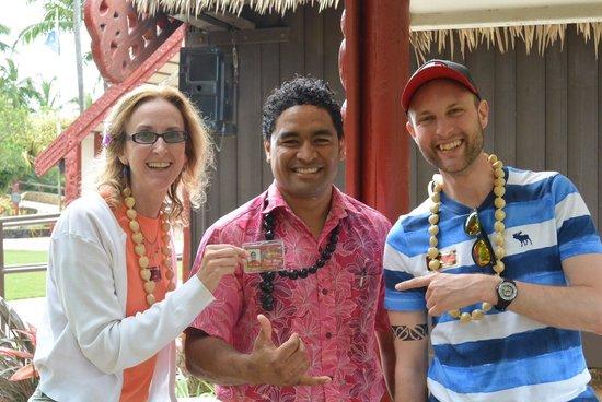 Polynesian Cultural Center: ;-)