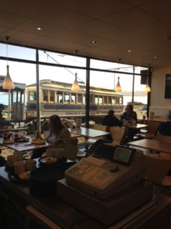 Port Jack Chippy: best views for the manx electric trams