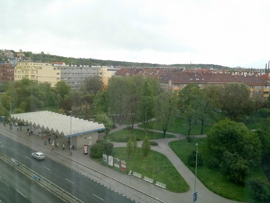Clarion Congress Hotel Prague : View from room
