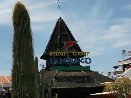 Minigolf Parque Santiago: Great Mini Golf