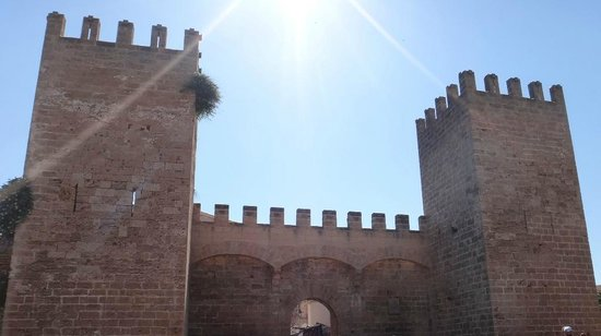 Alcudia Old Town : Стена