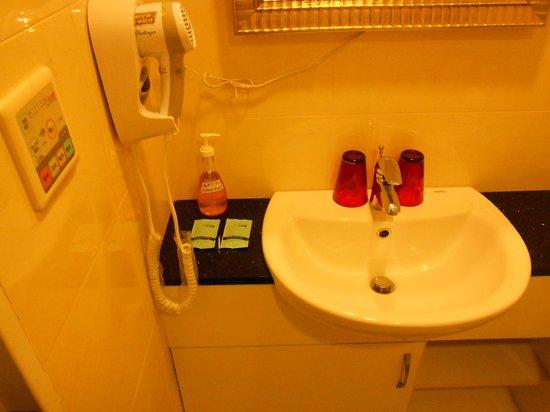 Bentley Park Suites: バスルーム