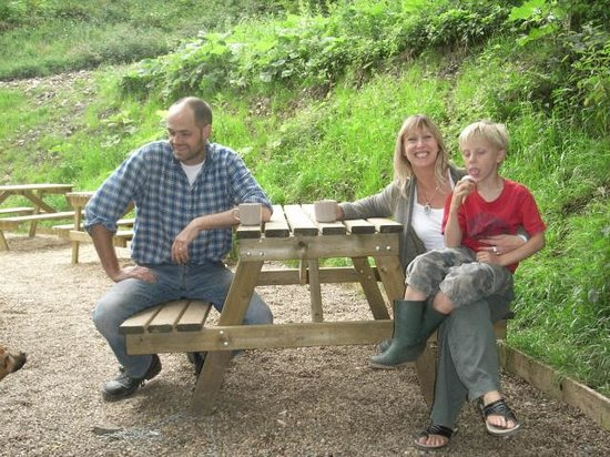 Monsal Trail: The welcoming smile!
