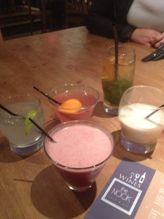 The Nook: Amazing cocktails