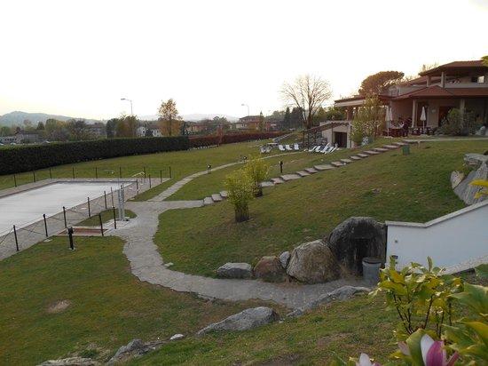 Relais sul Lago: parco