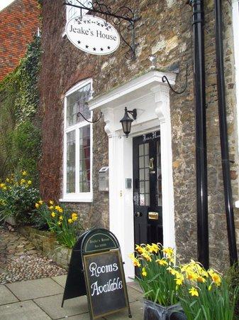 Jeake's House: Front door