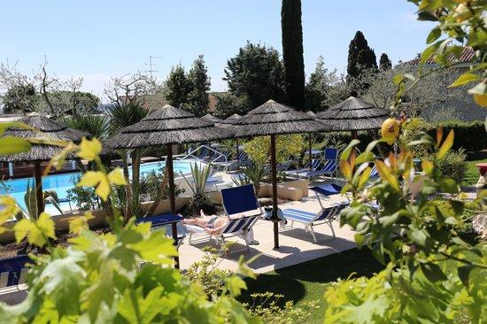 Hotel Olivi Thermae & Natural Spa: dans la cour