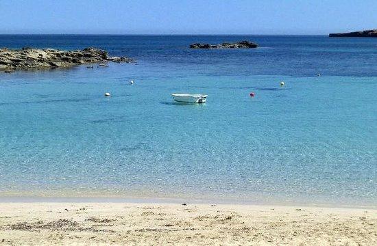 Playa es Pujols: Un pezzetto della spiaggia di Es Pujols