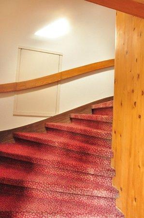 Harder Minerva Hotel: stairs