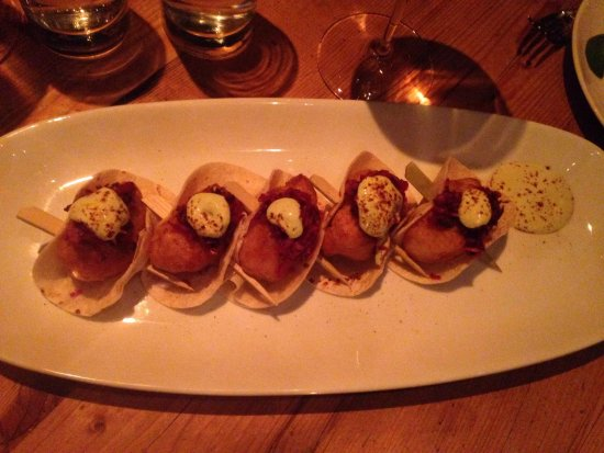 Beauty & Essex : Lobster tacos