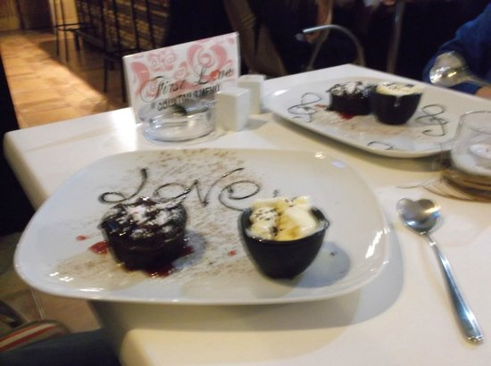 First Love: Chocolate souffle