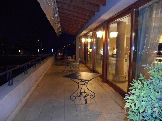 Relais sul Lago : esterno ristorante