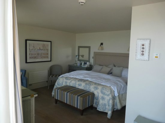 Red Lion Hotel: Our Sail Loft bedroom